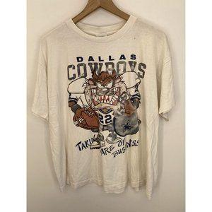 Dallas Cowboys 100% Cotton Crew Neck Tee Shirt